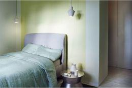 dormitorio del loft de Saint Martin