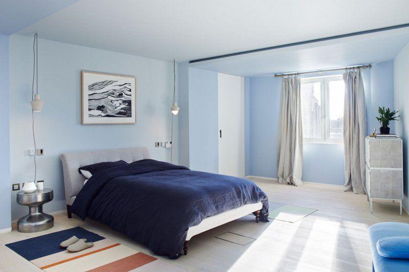 Dormitorio principal del loft de Saint Martin
