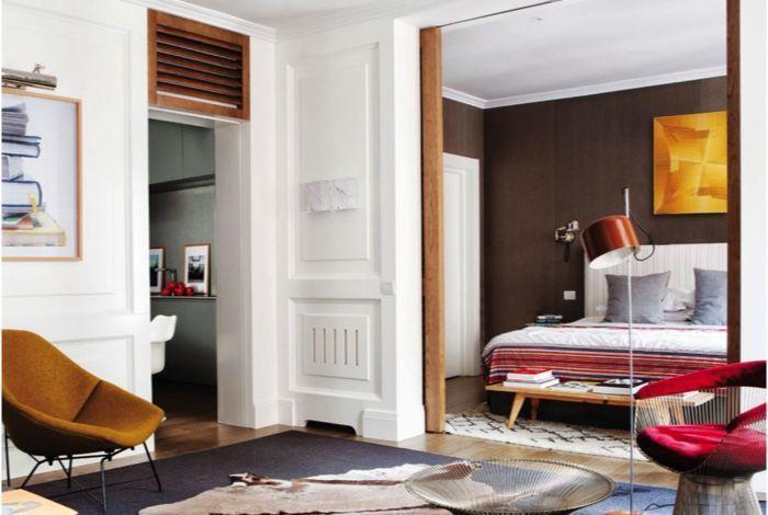 Apartamento clásico con una distribución muy fluida