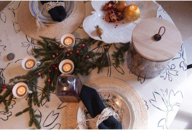 La mesa de Navidad de Decor&links