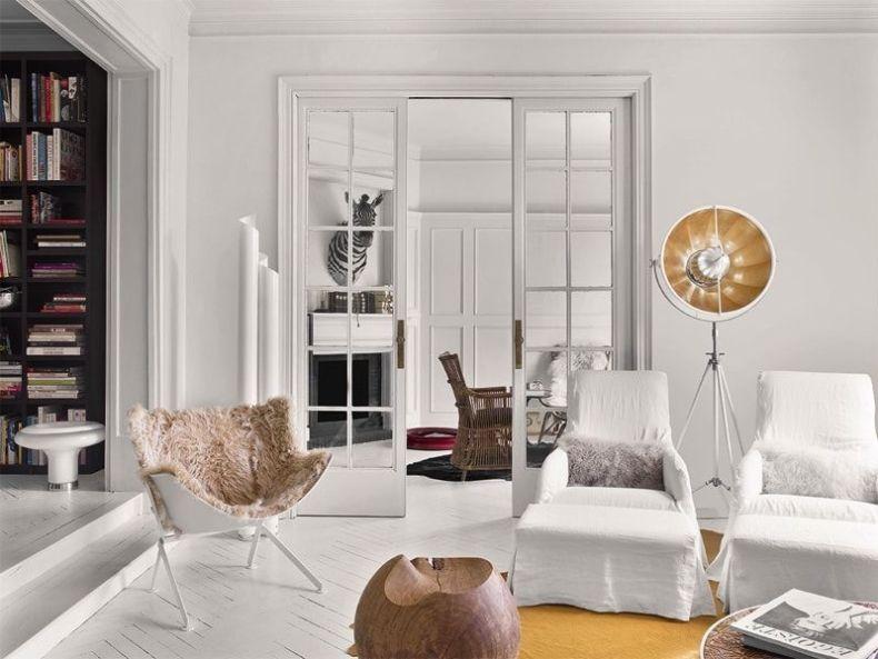 Casa ecléctica y vintage aunque en el salón predominan los de diseño