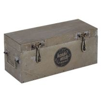 Caja metálica vintage