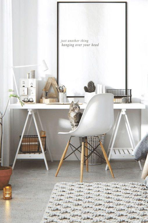 Copiar el look de un espacio de trabajo nórdico