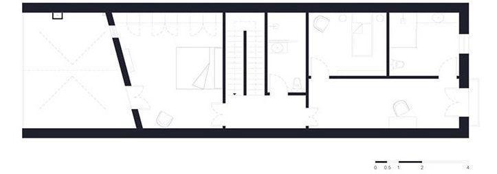 plano segunda planta showroom xavier martin