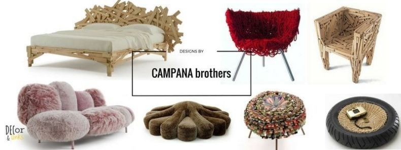 Ejemplos de los trabajos de los hermanos Campana