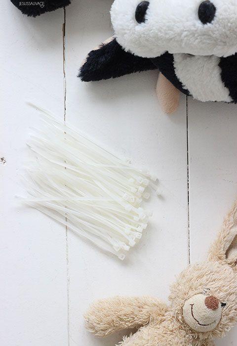 Abrazaderas de plástico para diy con peluches