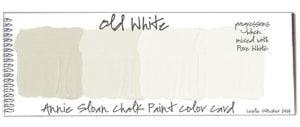 color old white de Annie Sloan