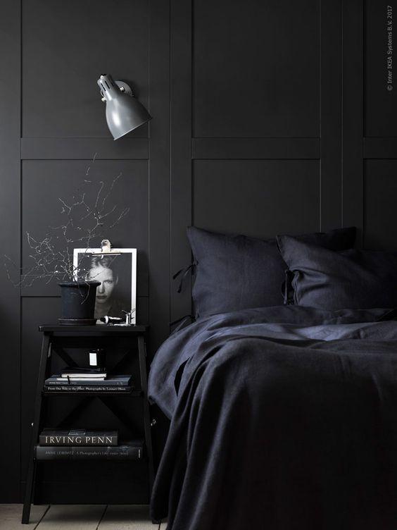 dormitorio segun horoscopo - panelado de ikea