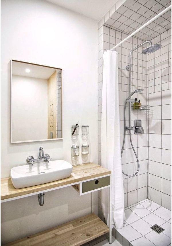piso de alquiler - diy vanity cabinet