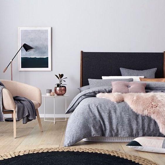 Ropa de cama: seen at prettyhome.org