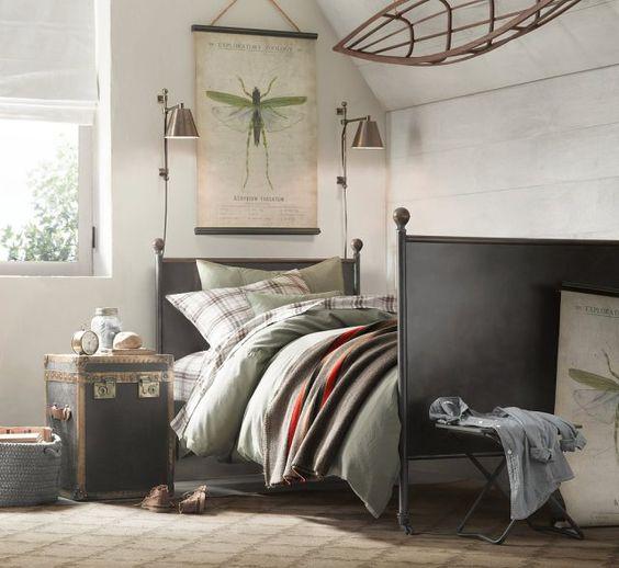 Ropa de cama: seen at Airesrenovados.wordpress.com