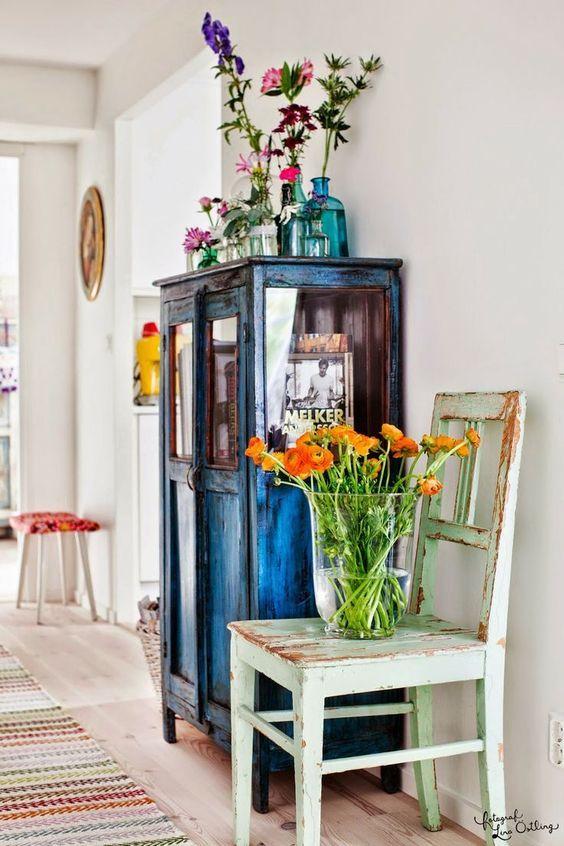 Casas con buen rollo - flowers and plants everywhere