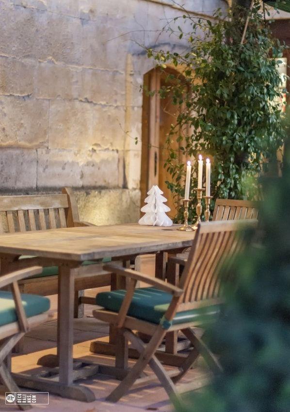jardin en navidad hacienda zorita