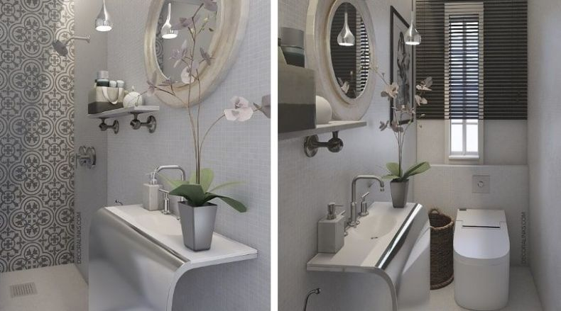 decoralinks | reforma de un apartamento en Barcelona, bathroom