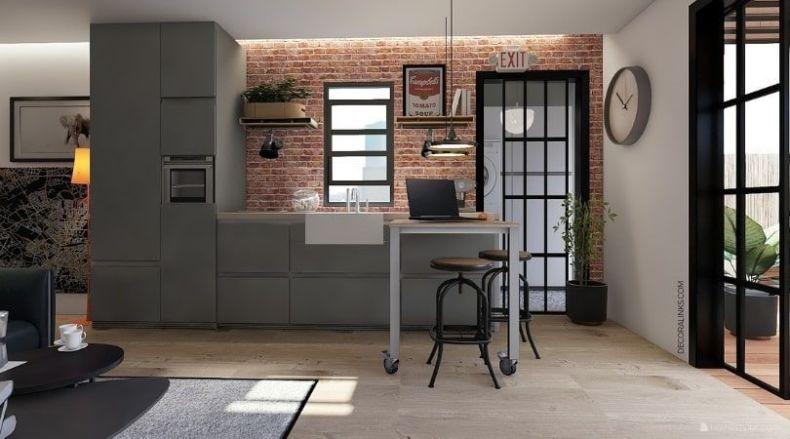 decoralinks | reforma de un apartamento en Barcelona, cocina