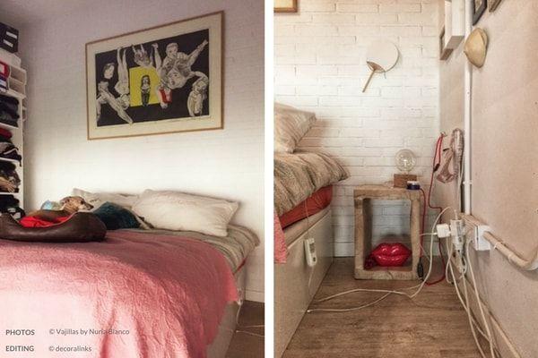 en casa de nuria blanco - dormitorio