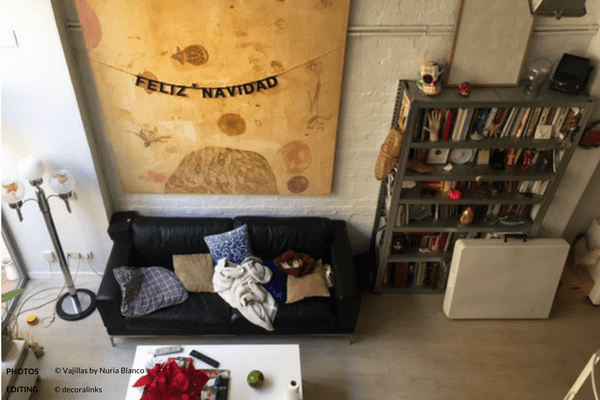 En casa de Nuria Blanco - vista general del salon
