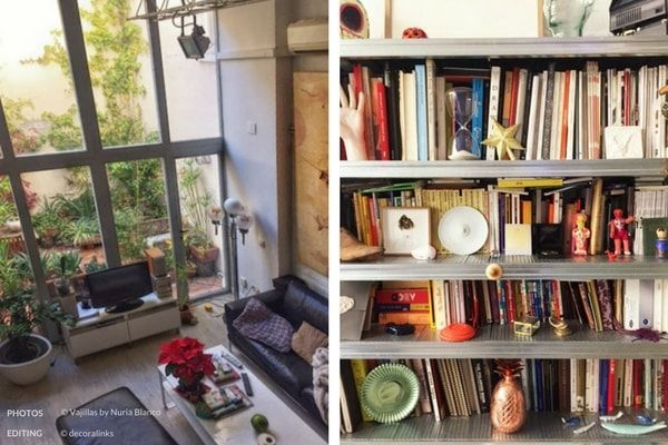 En casa de Nuria Blanco - salon