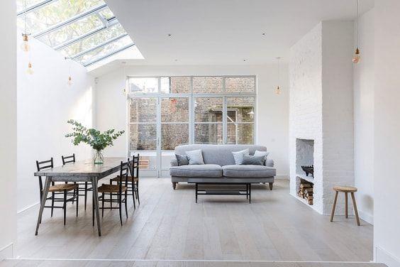 actualizar una casa de campo -lucernario