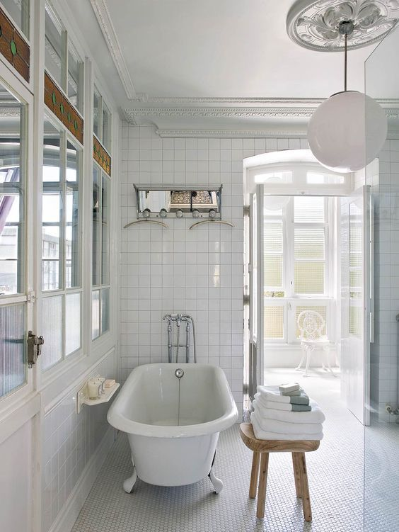 bathroom retro style - ramisa projects and fun