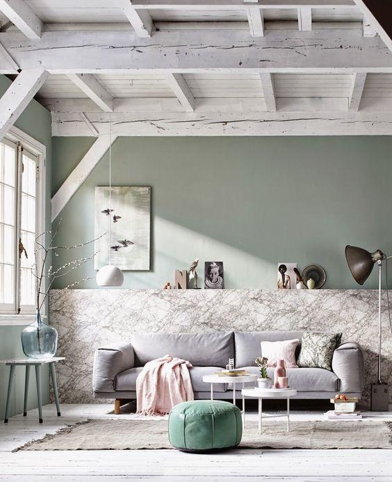 Mural de marmol para estilos nordicos y vintage