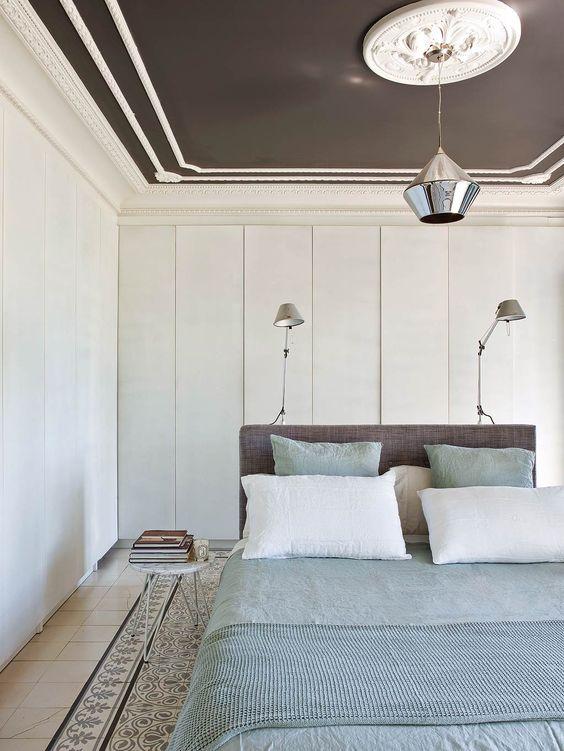 dormitorio con armarios ocultos -ramisa projects and fun