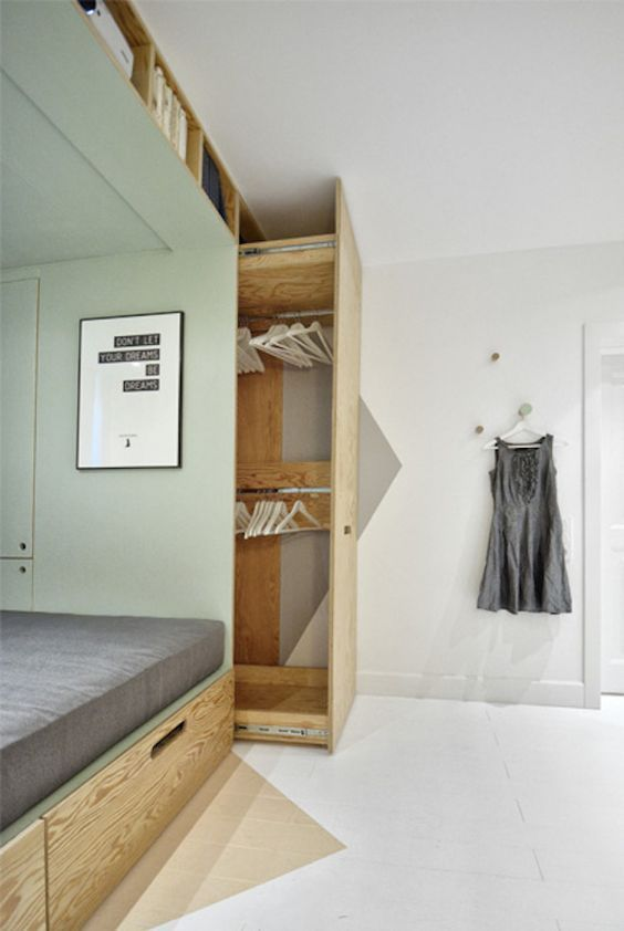 Almacenaje inteligente | armarios con fondo | decoralinks.com