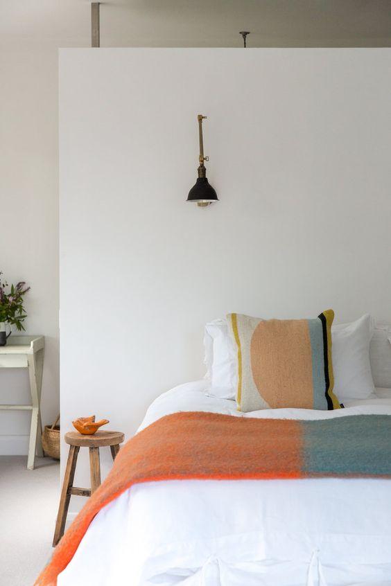decoralinks | dormitorio sencillo y natural con ropa de cama de fermliving