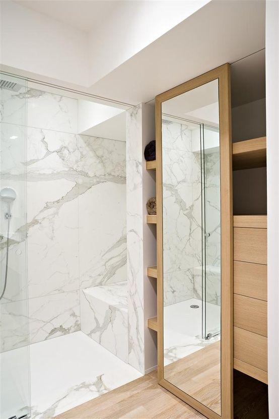 decoralinks | armario de suelo a techo con cristal deslizante - bathroom