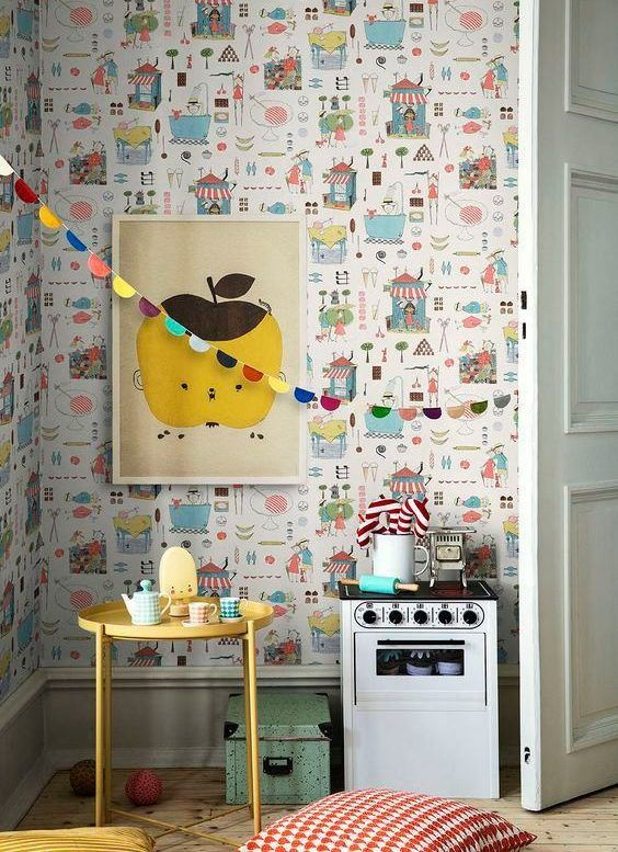 decoralinks | Playful kids wallpaper by Borastapeter