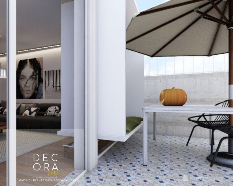 decoralinks   reforma de adosado en Madrid - terraza