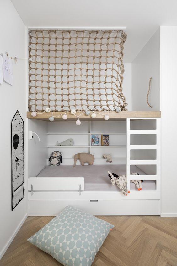 decoralinks | seguridad extra con mallas para camas tren y literas