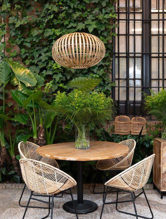 decoralinks | espacio exterior de casa guardiola