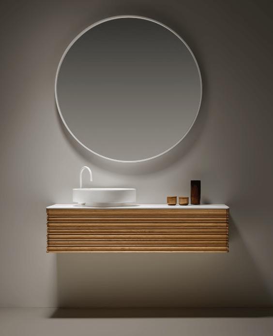 decoralinks | minimalismo en lavabos y muebles de Naxami