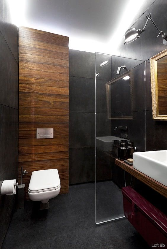 decoralinks | industrial apartment- bathroom