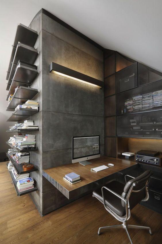 decoralinks   apartamento loft industrial - oficina en casa