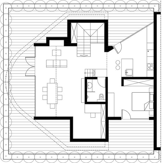 decoralinks   apartamento loft industrial - planos 2D