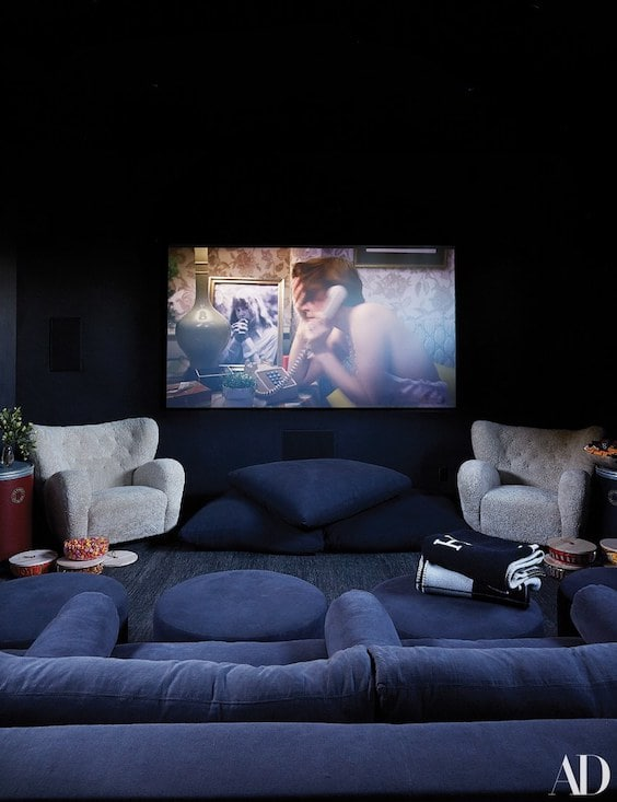 decroalinks | sala de cine de kris jenner