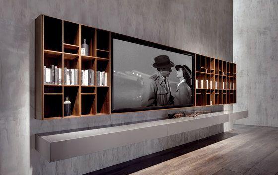 decoralinks | muebles contenedores para televisores de Acerbis