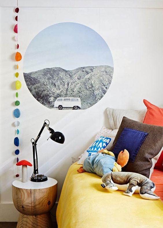 decoralinks | imagen adhesiva simulando una ventana - The design Files-Photo Sean Fennessy
