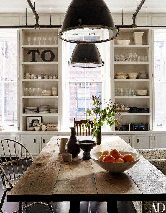 decoralinks | casas de famosos en New York - cocina de MEg Ryan
