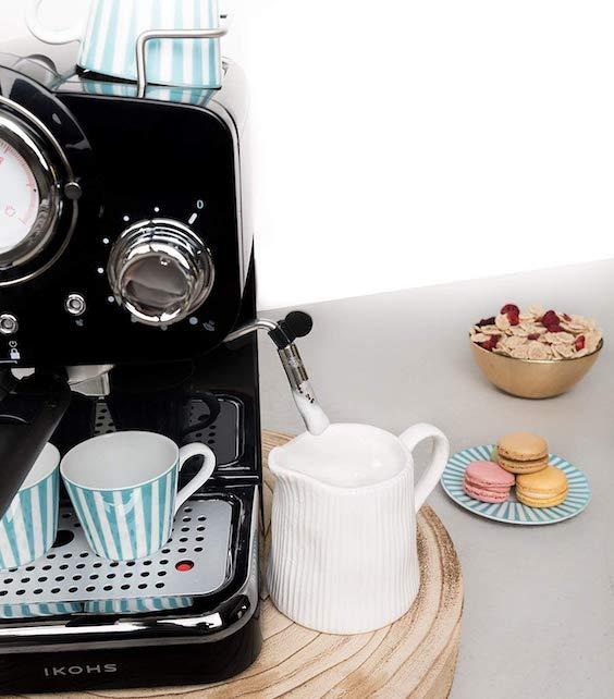 decoralinks | cafetera Ikohs estilo retro
