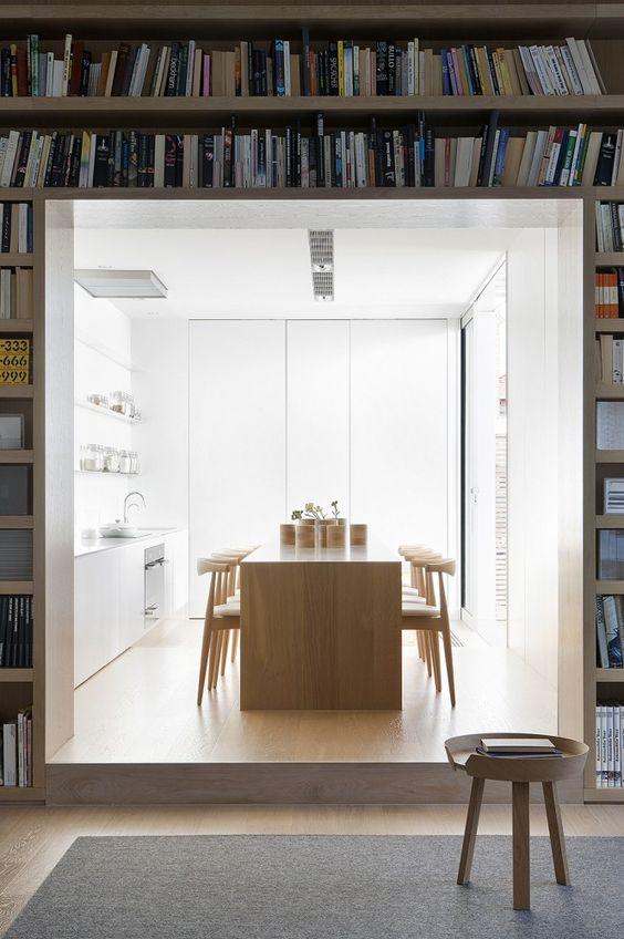 decoralinks | cocinas blancas matizadas por la madera de haya