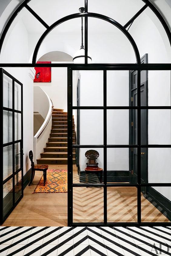 decoralinks   casas de famosos - entrada al apto de Naomi Watts en NY