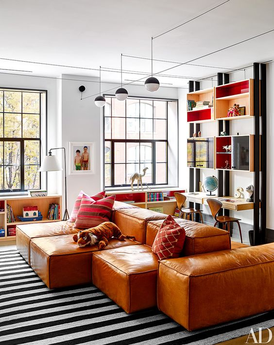 decoralinks | cuarto de juegos y estudio de Naomi watts en New york