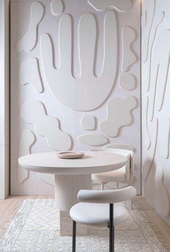 decoralinks | relieves en habitaciones pequeñas - panel del Studio Paolo Ferrari