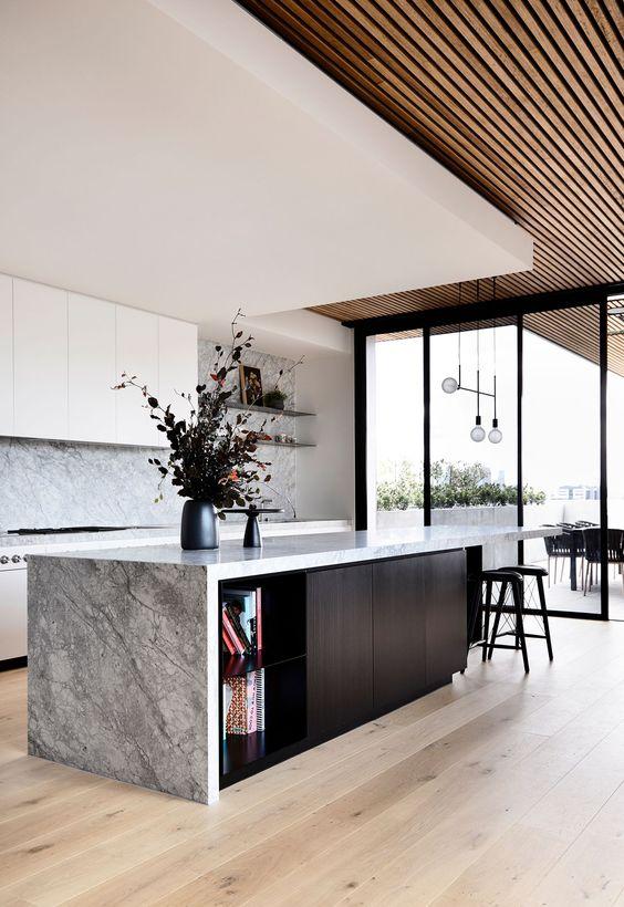 decoralinks | techos panelados con madera de Tom Robertson Architects