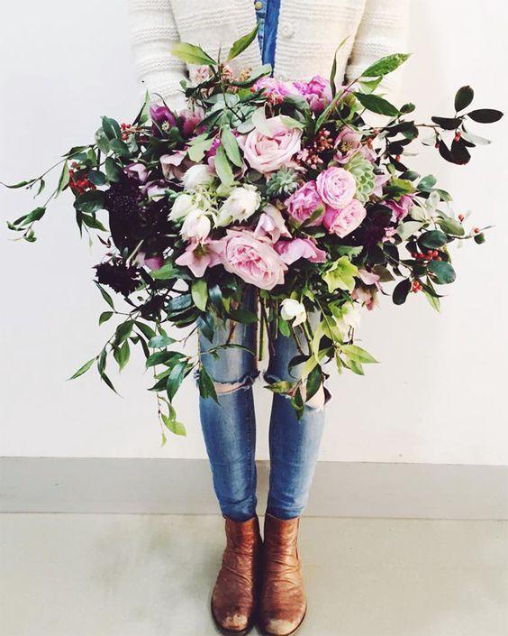 decoralinks | flores para regalar - ramo de rosas espectacular