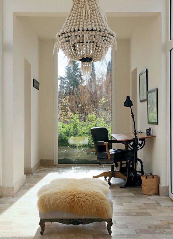 decoralinks | espacio improvisado para teletrabajar - un pasillo