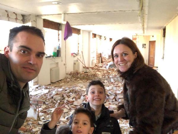 decoralinks | familia propietaria del atico en plena reforma